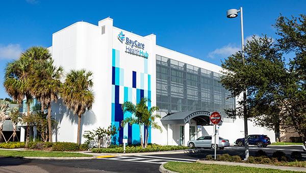 Exterior photo of BayCare HealthHub South Tampa