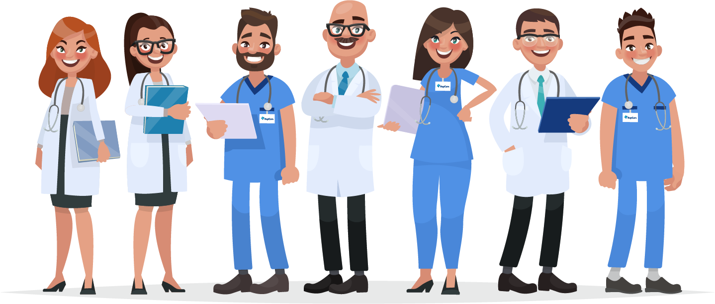 Animated image of Doctors