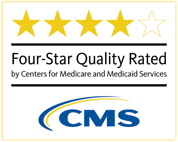 Centers for Medicare and Medicaid Services Four-Star Quality Rated