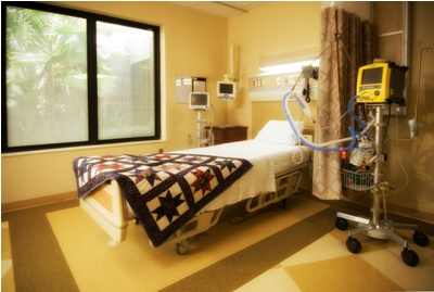 BayCare Alliant Hospital patient room