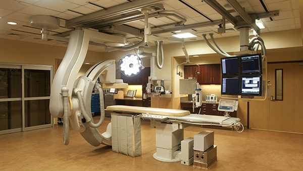 cath lab at Morton Plant North Bay
