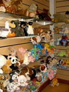 Plush toys available at hospital gift shop