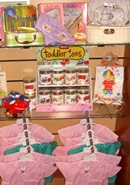 Gifts available for toddlers at hospital gift shop